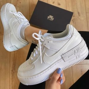 New Air Force 1 Shadow White